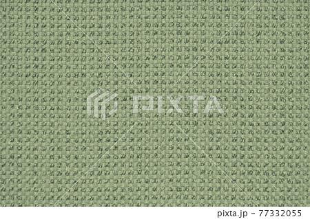 布テクスチャ_ピスタチオグリーンのファブリック背景素材 77332055