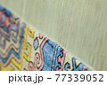 production and weaving of carpets and fabrics 77339052
