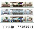 飲食店の感染対策 飲食店の新しいスタイル 77363514