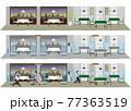飲食店の感染対策 飲食店の新しいスタイル 77363519