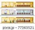 飲食店の感染対策 飲食店の新しいスタイル 77363521