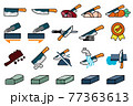 Good knife properties. Maintenance of kitchen equipment cartoon icon. 77363613