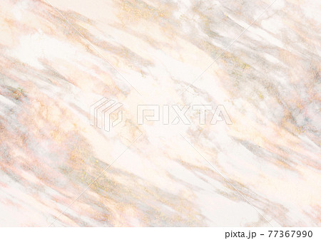 金混じりベージュ系の大理石の背景 77367990