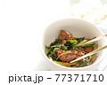 韓国風鳥レバーとにらのゴチュチャン炒め 77371710