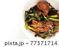 韓国風鳥レバーとにらのゴチュチャン炒め 77371714
