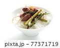 韓国風鳥レバーとにらのゴチュチャン炒め 77371719