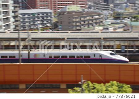 東北・上越新幹線E2系1000番台(流し撮り) 77376021