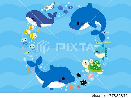海のなかまたち フレーム 77385355