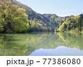 只見線・第1橋梁・只見川(福島県・三島町) 77386080