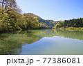 只見線・第1橋梁・只見川(福島県・三島町) 77386081