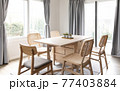Cosy dining room 77403884
