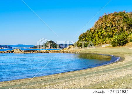 岳路海水浴場 【長崎市香焼町 】 77414924