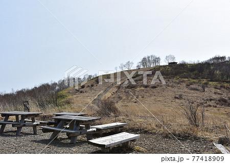 群馬の名所 中之条 野反りダム 初夏の風景 77418909