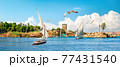 Sailing on Nile 77431540
