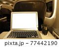北海道新幹線 東北新幹線 グランクラス車内 H5系  77442190