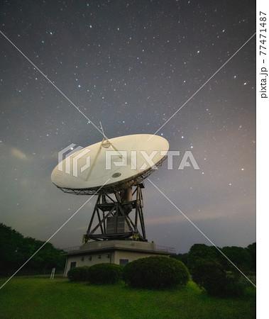さくら宇宙公園 天の川とアンテナ 77471487