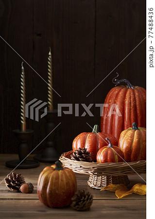 食卓のハロウィンイメージ 77488436
