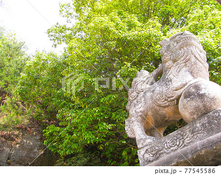 厳島神社の狛犬(広島県廿日市市宮島町) 77545586