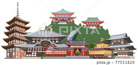 京都奈良名所観光地集合 77551820