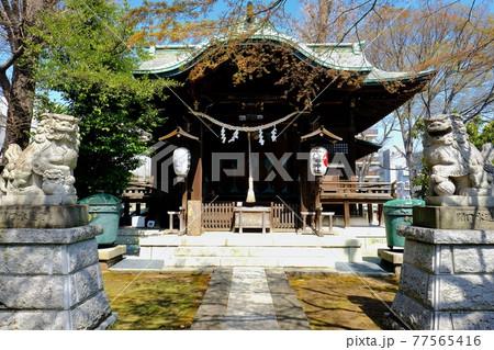 東京都文京区 正八幡神社 77565416