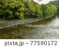 伊勢神宮の神秘的な風景 77590172