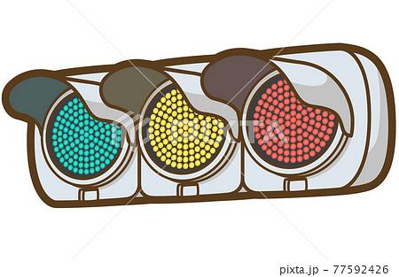 LED式交通信号機(全点灯) 77592426