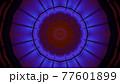 Dark neon ornament 4K UHD 3D illustration 77601899