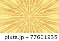 Bright yellow neon ornament 4K UHD 3D illustration 77601935