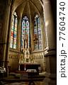 オーストリア、リンツの新大聖堂のマリア像 77604740