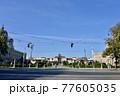 オーストリア、ウィーンのマリアテレジア広場 77605035