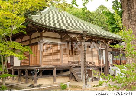 兵庫県神戸市道場にある太福寺の本堂 77617643