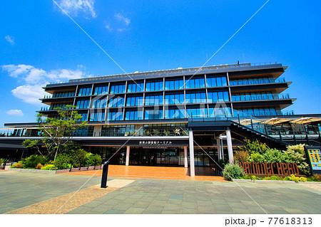 横浜ハンマーヘッドの新港ふ頭客船ターミナル 77618313