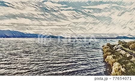 琵琶湖 77654071