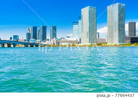 東京 晴海のタワーマンション群 77664437