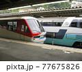 伊豆急 2100系電車 リゾート21 スーパービュー踊り子 251系 並び 熱海駅 77675826