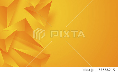 Abstract Triangle Background. 3D Triangles 77688215