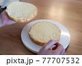 スポンジケーキ 77707532