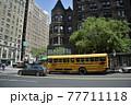 ニューヨーク マンハッタン アップタウン 街並み 77711118