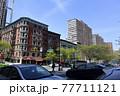 ニューヨーク マンハッタン アップタウン 街並み 77711121