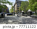 ニューヨーク マンハッタン アップタウン 街並み 77711122