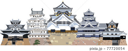 日本の城 国宝五城 77720054