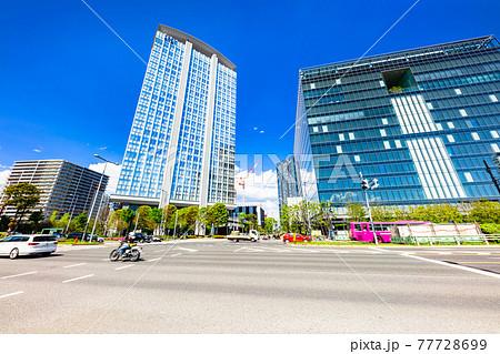 東京 豊洲 ビジネス街の風景 77728699