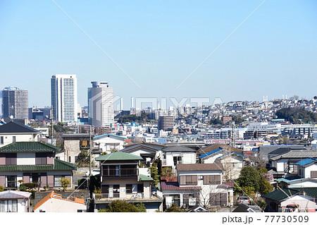 横浜市港南区野庭 日野周辺からの景色 77730509