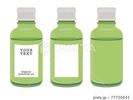 ベクター ガラス精油瓶 エッセンシャルオイル 77730643