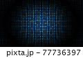 ドット ピクセル カラフル 点 虹色 チカチカ グリッド 点滅 動き 流れ LED 電光掲示板 77736397