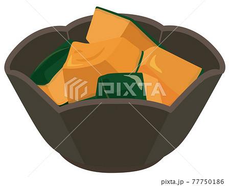 和食 かぼちゃの煮物 77750186