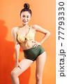 Woman, bikini, summer 77793330