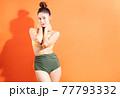 Woman, bikini, summer 77793332