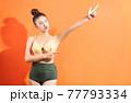 Woman, bikini, summer 77793334