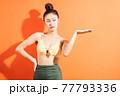 Woman, bikini, summer 77793336